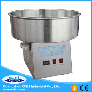 Stainless Steel Automatic Cotton Candy Floss Machine pictures & photos