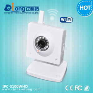 Indoor IR Mini Cube 720p IP Camera (IPC-3100WHD)