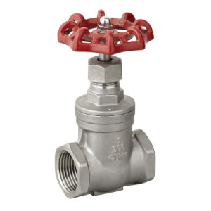 Stainless Steel Seated Gate Valve with Ce Valvula De Compuerta pictures & photos