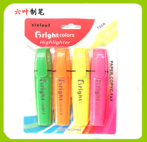 4pk Highlighter Pen, Stationery Set pictures & photos
