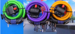 Bike Accessories (TK8221) Bicycle Cable Lock