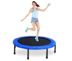 Round Indoor Mini Trampoline Rebounder / Adult Mini Trampoline pictures & photos