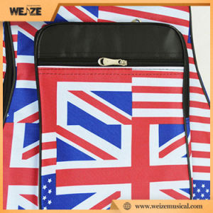 41inch Guitar Bag with Waterproof Shell Fabric Flag Pattern pictures & photos