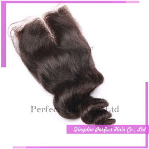 8-24inch in Stock Virgin Remy Indian Closures pictures & photos