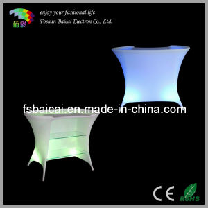 LED Table/Furniture/Bar Table/Bar Counter with Light pictures & photos
