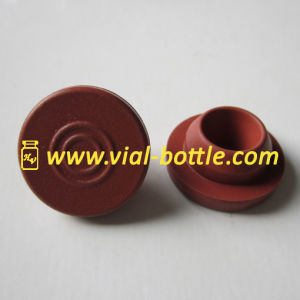 Red Color 20mm Butyl Rubber Stopper in Normal Type pictures & photos