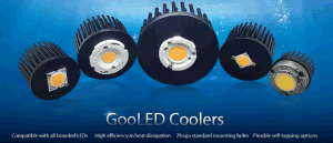 Pin Fin LED Cooler LED Heatsink for CREE Module (GooLED-11080) pictures & photos