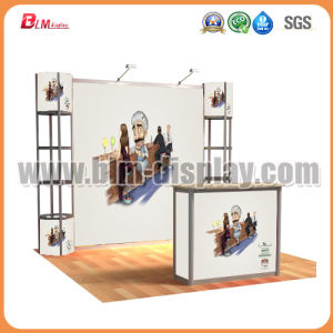 Porable Advertising Twister Tower Promotion Counter Folding Table Pop up Display Exhibition Booth Trade Show Spiral Towel Case Display Rack Stand Exhibitions