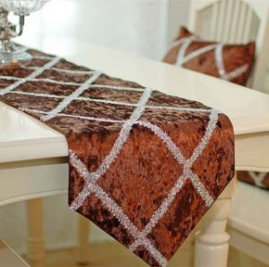 Hand-Made Table Runner Decorative Table Flag (BTR-02) pictures & photos