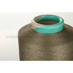"""100% Polyester DTY Yarn for Knitting (100d/36f/2 SD """"S""""+""""Z"""" Him) pictures & photos"""