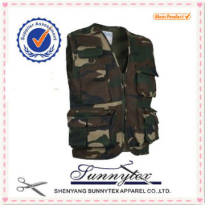 Men′s Vest Be Made with High Quality Cotton/Polyester pictures & photos
