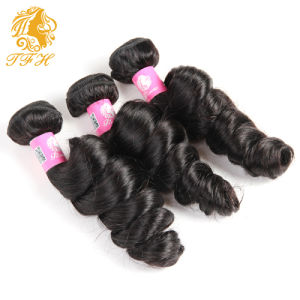 8A Malaysian Virgin Hair Loose Wave Malaysian Loose Wave Virgin Hair 3 Bundle Deal Human Hair Loose Curly Malaysian Hair Bundles pictures & photos