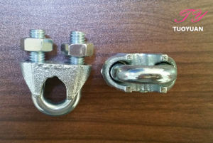 Us Type Malleable Wire Rope Clip pictures & photos