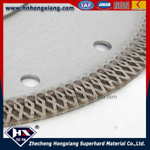Reliable Supply Turbo Diamond Saw Blade for Granite, Marble/ Cyclone Mesh Turbo pictures & photos