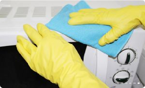 Small MOQ Good Price Disposable Powder Free Nitrile Gloves for Household pictures & photos