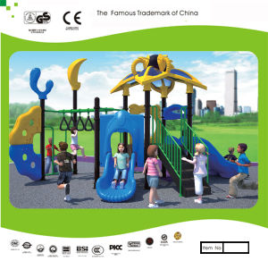 Kaiqi Monkey Bars and Slide Set for Children′s Playground (KQ30139B) pictures & photos