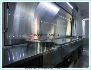 Luxury Tray Trolley Trailer Cabinet Street Pan Cake Sweet Corn Food Truck pictures & photos