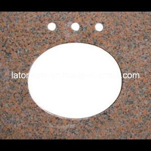 Modern Design  Prefabricated G562 Granite Vanity Coutertops Kitchen / Bathroom Tops pictures & photos