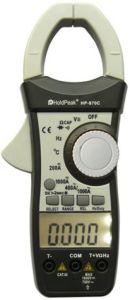 Digital AC/DC Clamp Meter (HP-870C)