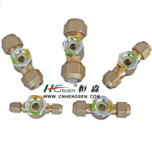 """Professional OEM Manufacturer of Joining Sight Glass with Nuts 1/4"""", 3/8"""", 1/2"""", 5/8"""", 3/4"""" Air Conditioner Parts, Refrigeration Parts, Refrigeration Tools pictures & photos"""