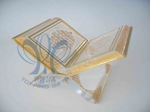 Medium Holy Quran (Crystal and Gold Book)