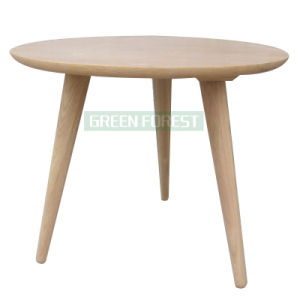 High Round Wooden Coffee Table (GF-C005)