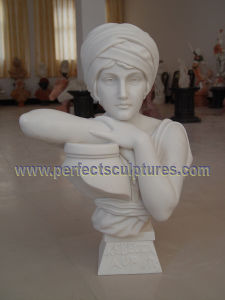 Stone Sculpture Marble Statue Head Bust for Home Decoration (SY-S312) pictures & photos