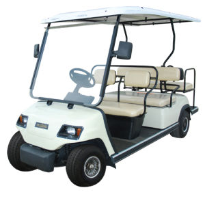 Lvtong Brand Folded Seats Electric Car for Resort Use pictures & photos