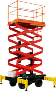 Scissor-Type Aerial Work Platform (SJY) pictures & photos