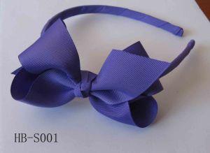 Girls Hair Bow on Headband, Woven Headband, Hair Band (HB-S001)