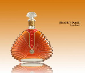 Cognac and Brandy Decanter. Large Sizes From 1.5l to 1.75l (B07-1750)