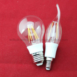 E27 E14 4W 2W LED Filament Lamp A60 A19 C37 pictures & photos