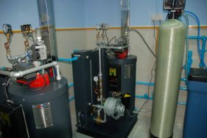 70kw Coil Tube Oil Fired Hot Water Boiler pictures & photos
