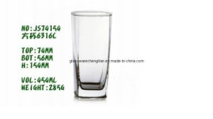 with Competitive Price of Clear Tumbler Glass Cup (B-JS74154) pictures & photos