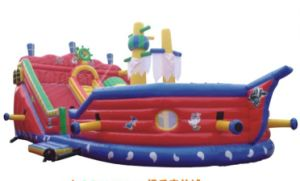2014 New Style Inflatable Castle Climbing QQ12205-4 pictures & photos