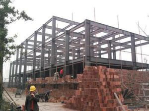 Steel Structure Frame with Asian Inspection Certification in Europe Market (HYF001) pictures & photos