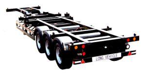 Cimc Gooseneck Semi Trailer Truck Chassis pictures & photos