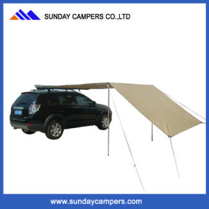 Hot Sale Retractable Car Top Side Awning pictures & photos
