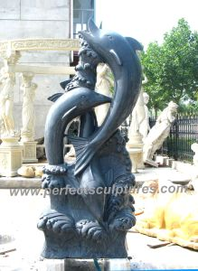 Carving Stone Marble Dolphin Sculpture Animal for Garden Statue (SY-B147) pictures & photos
