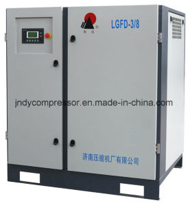 Electric Belt Driven Rotary Screw Air Compressor pictures & photos