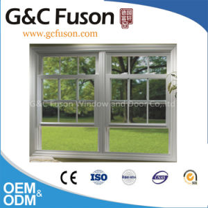 Aluminium Single Hung Window with Anti-Explosion Glazing pictures & photos