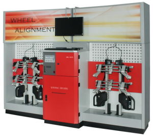 Wheel Aligner With CE and ISO9001 (DWA861B)