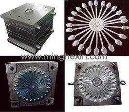 Plastic Spoon Injection Mould with ISO SGS pictures & photos