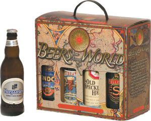 Paper Packing Holder for 6 Bottle Beer (FP6068) pictures & photos