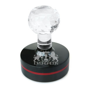 Crystal Handle Flash Stamps Round50mm pictures & photos