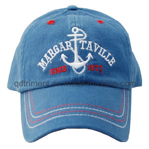Heavy Brushed Cotton Twill Embroidery Baseball Sport Cap (TRB0365) pictures & photos