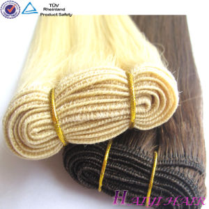 2014 New Arrival Natural Look Blonde Brazilian Hair Weft