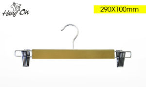 Clip Flat Wooden Pants Hanger (TPL011-1)