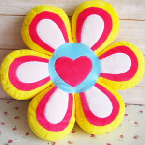 Plush and Stuffed Flower or Petal Throw Pillow, Hand Cushion and Pillow, Household and Car Back Cushion, 40x40x10cm