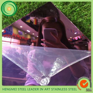China Supplier 316 Mirror Stainless Steel Plate for Elevator Door and Cabin pictures & photos